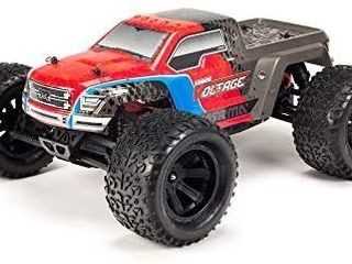 ARRMA RC Monster Truck  1 10 Granite Voltage MEGA 2WD SRS RTR with 2 4GHz Radio   1800mAh 6C NiMH Battery   Charger   1 10 Scale  Red Black  ARA102727T3