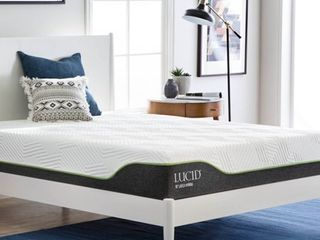 lucid 10 In  latex Hybrid Mattress Full Size
