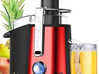 Centrifugal Juicer Machine Fruit Juice Maker Extractor Processor Dual Speed  Red