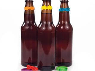 Beernoculars  Bottleneck Markers  Set of 6  by TrueZoo  BOX OF 12
