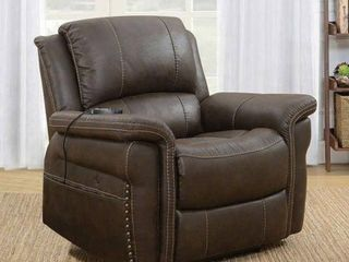 Emomo PowerRecline Massage Heat Recliner   FRAME IS BENT AND CHAIR ROCKS  POWER KEEPS SHUTTING OFF