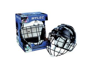 Mylec Sr  Helmet with Wire Face Guard  Black