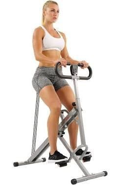 UPRIGHT ROW N RIDE ROWING MACHINE