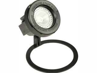 Hampton Bay low Voltage Black Outdoor Integrated lED Submersible Pond light