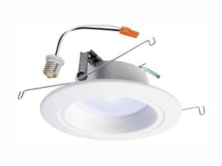 Halo Rl 5 in  and 6 in  2700K 5000K White Integrated lED Recessed Ceiling light Trim at Selectable CCT   693 lumens  65 W