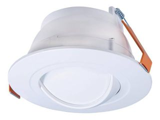 HAlO RA 6 in  Selectable CCT New Construction or Remodel Canless Recessed Adjustable Gimbal Integrated lED