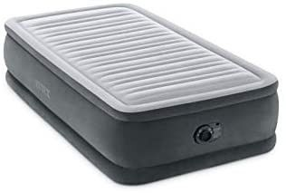 Intex Dura Beam Deluxe Comfort Plush Airbed Series with Internal Pump