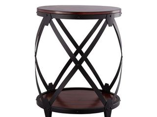 Thatcher Drum End Table  Retail 185 99