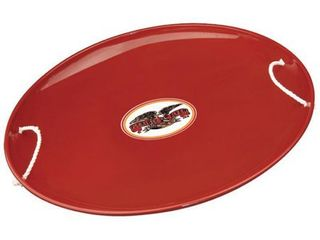 Flexible Flyer Steel Saucer   Red