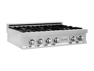 ZlINE   Professional 36  Gas Cooktop with 6 Burners