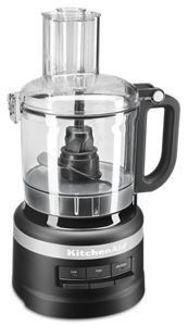 Kitchenaid 7 Cup 3 Speed Food Processor  Black Matte  refurbished