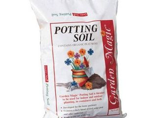 Michigan Peat 5540 Garden Magic Top Soil  40 Pound