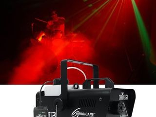 Chauvet DJ H1000 Hurricane 1000 Compact Fog Machine Wired Remote 10 000 CFM
