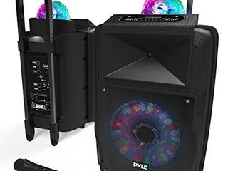 Portable DJ Dance Speaker System   PA Stereo 700 Watts w 12