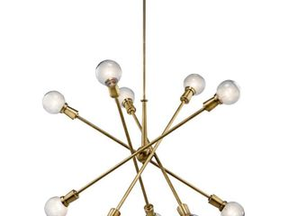 Kichler 43119 Armstrong 10 light 47  Wide Sputnik Chandelier