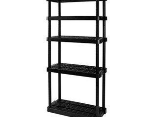 Adjustable 5 Shelf Medium Duty Shelving Unit