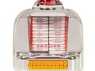 Crosley Diner Jukebox Tabletop Radio with FM and Bluetooth