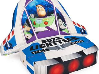 MARSHMAllOW Furniture Children s 5 in 1 Cushion Chair  Toy Story Buzz lightyear  White