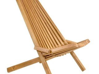 Tamarack Wood Folding Patio Chair   CleverMade