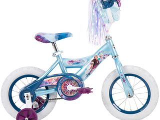 Huffy Disney s Frozen 2 Kids 12  Bike Bicycle with Training Wheels  Ages 3 to 5