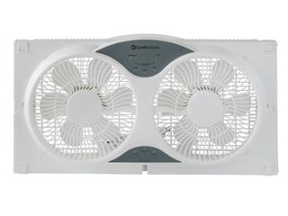 Comfort Zone CZ310R Twin Window Fan