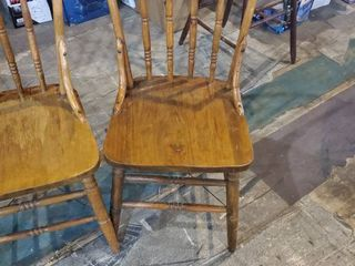 Set of 2 Vintage dining Room chairs