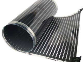 QuietWarmth 3 ft  x 5 ft  x 0 016 in  120 Volt Radiant Heat Film for Floating Floors  Covers 15 sq  ft