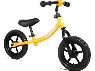 Joystar Marcher 12  Age 1 5 5 Kids Toddler Training Balance Bike Bicycle  Orange