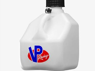 VP Racing Fuels 3 Gallon Square Heavy Duty Portable Racing Utility Jug  White