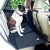 Frontpet Backseat Pet Bridge   Ideal for Trucks  SUVs  and Full Sized Sedans Dog Car Seat Extender Platform Cover Barrier Divider Restraint
