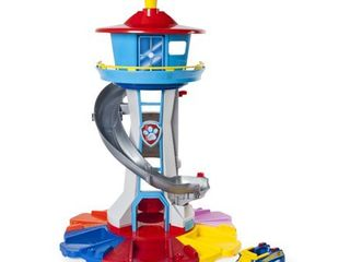 PAW Patrol My Size lookout Tower with Exclusive Vehicle  Rotating Periscope and lights and Sounds  SEE DESCRIPTION
