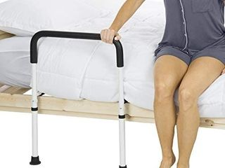 Vive Bed Assist Rail   Adult Bedside Standing Bar for Seniors  Elderly  Handicap  Kid   Fit King  Queen  Full  Twin   Adjustable Fall Prevention Safety Handle Guard   long Hand Bedrail Grab Bar Cane