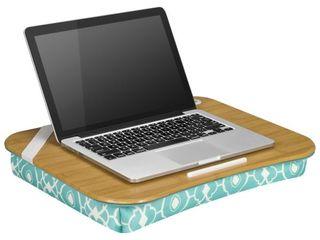 lapGear   Designer lap Desk for 15 6  laptop   Aqua Trellis   Aqua Trellis