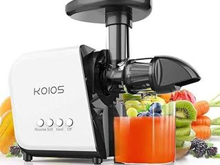 KOIOS Juicer  slow Juicer Extractor with reverse function  cold press Juicer Machines