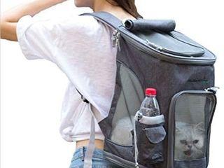 Portable Backpack for Pets  Foldable Shoulder Pet Bag