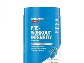CHAllENGE by GNC CHAllENGE By GNC Pre Workout Intensity  Blue Frostberry  15 9 Ounce