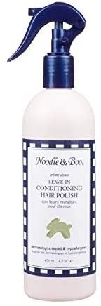 Noodle   Boo Moisturizing Conditioning Hair Polish Detangler for Newborn and Baby