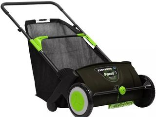 21  Push lawn Sweeper Earthwise  2 6 Bushel Collection Bag  lSW70021