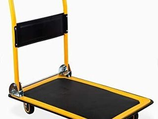 MaxWorks 80876  Foldable Platform Truck Push Dolly 330 lb  Weight Capacity