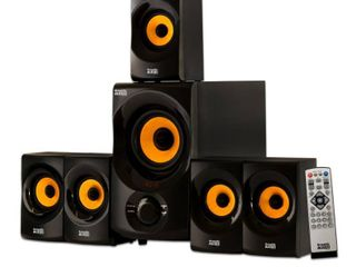 Acoustic Audio AA5170 Home Theater 5 1 Bluetooth Speaker System 700W with Powered Sub