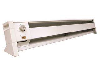 Fahrenheat FBE15002 Dual Wattage Electric 5120 BTU Baseboard Heater  1500 1000 watt