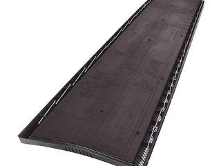 Ridge Vents  GAF Roofing Supplies Cobra 3 13 3 4 in  x 48 in  Roof Ridge Exhaust Vent in Black 2018000
