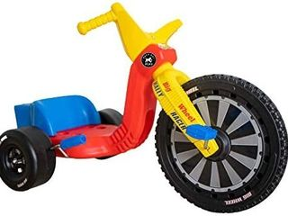 The Original Big Wheel 16 Inch Tricycle   Big Wheel for Kids 3 8 Boys Girls Outdoor Kids Toys Drift Trike with Spin Out Hand Brake   Rally Racer