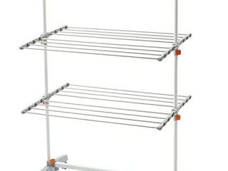 idee BDP V23 Foldable Rolling 3 tier Clothes laundry Drying Rack