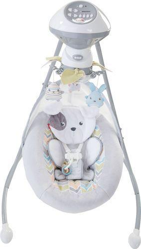 Fisher Price Sweet Snugapuppy Dreams Cradle  N Swing  Dual Motion Baby Swing
