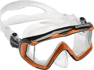 Cressi large Wide View Mask for Scuba Diving   Snorkeling   Pano 3  designed in Italy