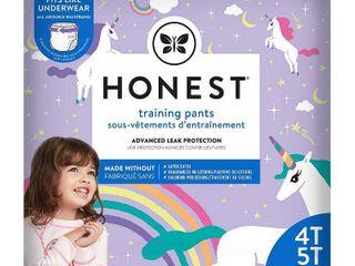 The Honest Company Disposable Training Pants Unicorns   Size 4T 5T   19ct