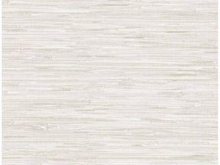NuWallpaper Grassweave Peel   Stick Wallpaper Cream