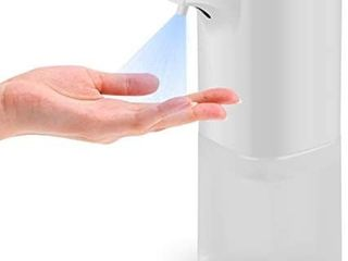 Beinhome Automatic Alcohol Disinfection Sprayer  Infrared Induction Touchless Hand Sanitizer Dispenser  Portable Sterilizer Suitable for Home  Restaurant  School  Hotel Company