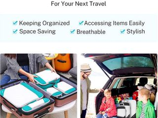Compression Packing Cubes  lExtensible Storage Mesh Bags Organizers